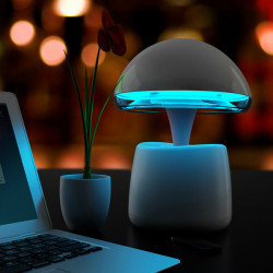 A LA Magic Lamp Bluetooth Speakers Intelligent Alarm Clock