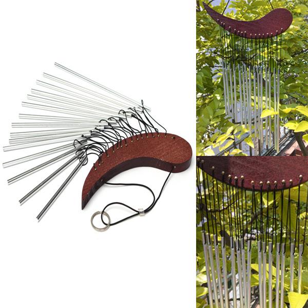 Aluminiumrohr Wind Chime Chimes Healing Sound Garden Living Decor Haus Dekoration