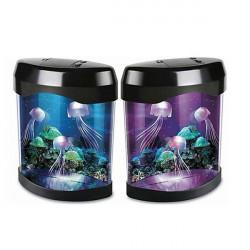 Aquarium Simulation Quallen Hintergrund Lampen Nachtlicht