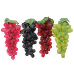 Artificial Grapes Decorative Plastic Fake Fruit Home Decor