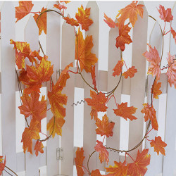 Artificial Ivy Leaf Garland Plant Vine Flower Vine Decoration