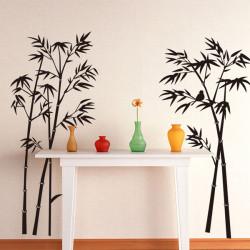 Bamboo Väggdekal Removable Art Hem Living Decor