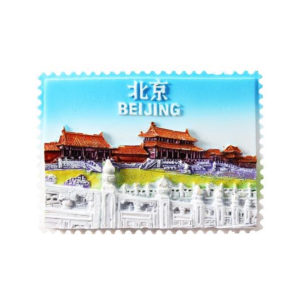 Beijing Tourism Memorial Gifts Resin Fridge Magnets Home Decor