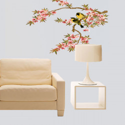 Blossoms Tree Orioles Vinyl Removable Wall Sticker Decal Home Decor