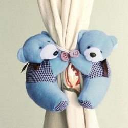 Cartoon Bear Curtain Tie Back Hook Hanging Buckle