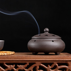 Ceramic Incense Censer Plate Sandalwood Incense Tower Incense Burner