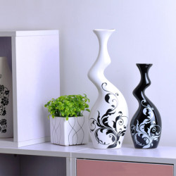 China Keramik Kunst Verzierung Liebhaber Vase Keramik Home Decoration