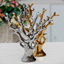 China Keramik Home Decoration Ceramic Geld reiche Baum