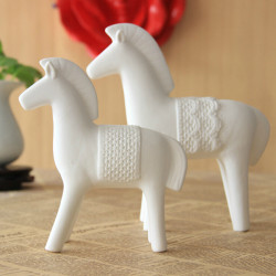 China Ceramics Steeds Ceramic Horse Furnishing Articles