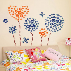 DIY Flower & Butterfly Wall Sticker Removeable Home Decor Wall Decal