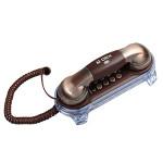 Delikat Classic Brun Koppar Vägg Land Telefon Hemtelefon Hushållsapparater