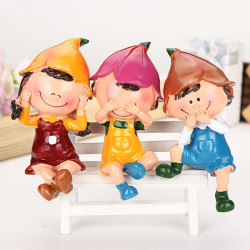 Puppe zur Innenausstattung Resin Crafts Home Decoration