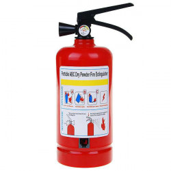 Dry Powder Fire Extinguisher Shaped Land Line Telephone