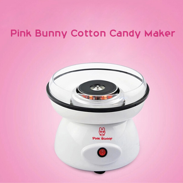 Elektrisk DIY Bomull Candy Floss Maker Machine Spun Sugar Processor Hushållsapparater