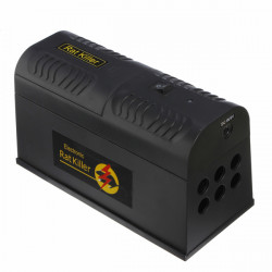 Electronic Rat Trap Mice Mouse Killer Zapper Box