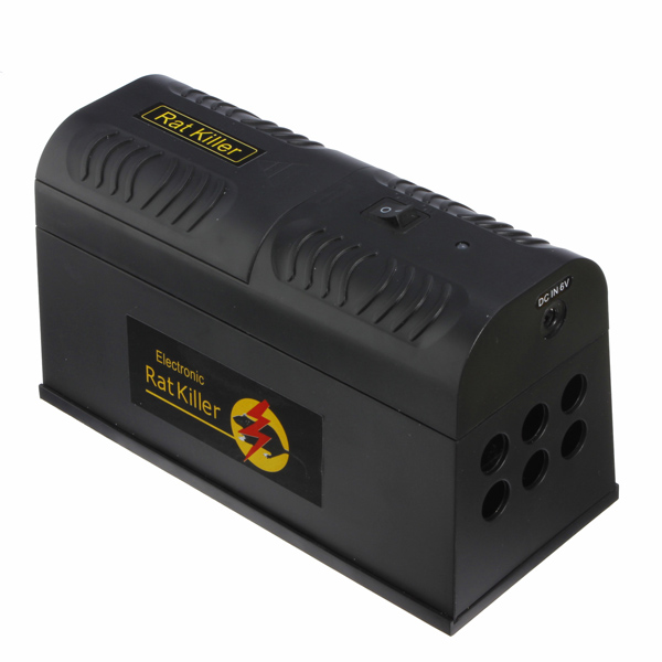 Elektronisk Rat Fälla Möss Mus Killer Zapper Box Hushållsapparater