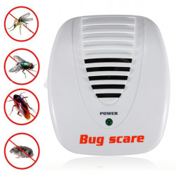 Elektronisk Ultrasonic Mygga Mus Pest Control Repeller Skadedjursbekämpning Bug Scare
