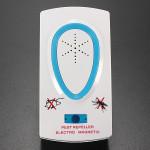 Elektronisk Ultrasonic Mus Mygga Insekt Gnagare Repeller Skadedjursbekämpning Hushållsapparater