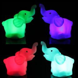 Elefant Form LED Nachtlicht kleine Lampe Hochzeitsfest Dekor
