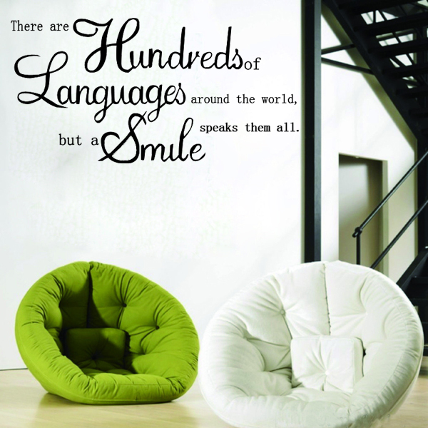 English Proverbs Wall Sticker Decal Wallpaper Home Decor Home Decor