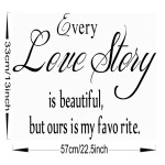 English Proverbs Wall Stickers Love Story  Wall Stickers Home Decor