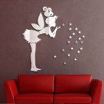 Fairy Wall Stickers Stars Girl Wall Art Home Decoration Home Decor