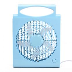 Folding Mini USB Bord Skrivbord Fan Cooler för Dator Bil Hem
