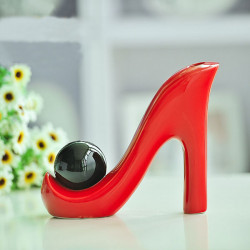 High Heel Ceramic Crafts Home Furnishings Ornaments Decorations