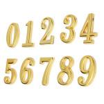 House Hotel Goldener Türschild Nummer 0 9 mit Schrauben Haus Dekoration