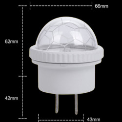 LED Nachtlichter Nachtlicht Sensor Fußball Kinder Nachtlicht
