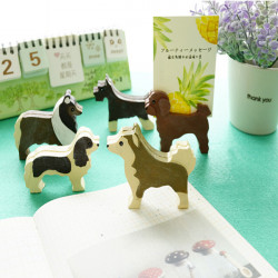 Lovely Puppy Resin Card Holder Notice Clip Message Folder