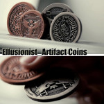 Magic Props Ellusionist_Artifact Coins Magic Tricks Toys Home Decor