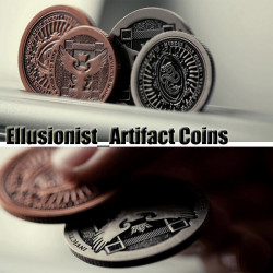 Magic Props Ellusionist_Artifact Coins Magic Tricks Toys