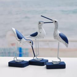Medelhavsstil Ornament Creative Sjöfåglar Inredning Dekoration