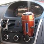 Mini netter Coca Cola Art bewegliche Fahrzeug eingebaute Auto Luftbefeuchter Haushaltsgeräte