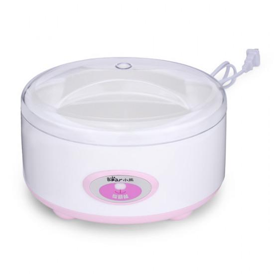 Mini Vitvaror Yoghurt Maker Med 4 Keramiska Koppar för The Kitchen 2021