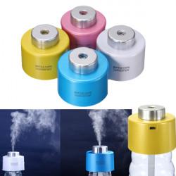Tragbare Mini Flaschenkapsel Luftbefeuchter mit USB Kabel für Office Home