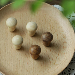 Mushrooms Wooden Fridge Magnets Multicolor Random Crafts