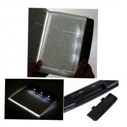 Night Läsning LED Bok Ljus Lamppanel