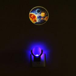 Optisch kontrollierten Projektions Drehung um 360 Grad kleines Nachtlicht