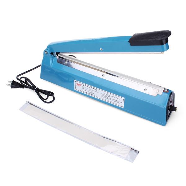 PFS-300 300mm Impulse Heat Sealing Plastpåse Närmare Sealer Hushållsapparater