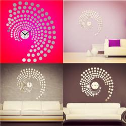 Peacock Dot DIY Wanduhr Home Decoration Acryl Wand Aufkleber