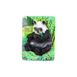 Peaking Tourism Memorial Gifts Panda Resin Fridge Magnet Home Decor