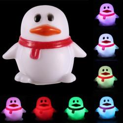 Penguin Form 7 Farve Change Dekoration LED Lampe Natlampe