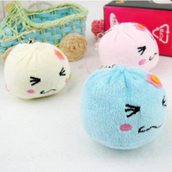 Plush Expression Steamed Stuffed Bun Cell Accessories