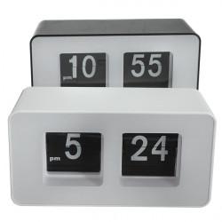 Retro Flip Classic Stylish Desk Auto Modern Clock