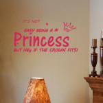 Rose Red 60*28cm English Proverbs PVC Wallpaper Wall Sticker EWQ0019 Home Decor