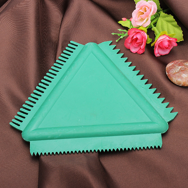 Rubber Triangular Scraper For Wall Art Coating Wall Painting Tools Home Decor