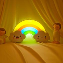 De Intelligente Farverige Rainbow Light Klappede Lights