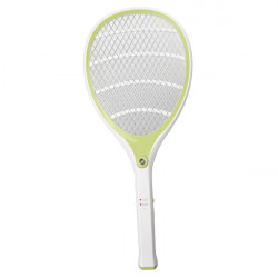 YG-5614 Rechargeable Electronic Mosquitoes Flies Swatter With LED Lamp